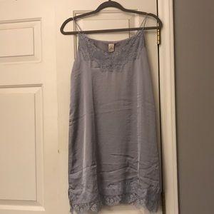 Paper Crane silk dress